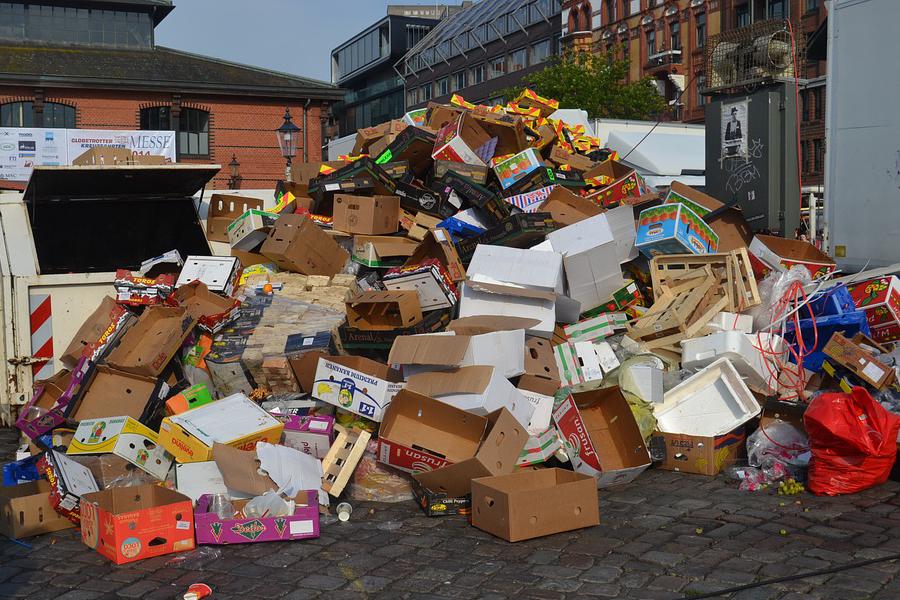 O impacto dos resíduos de embalagens no meio ambiente