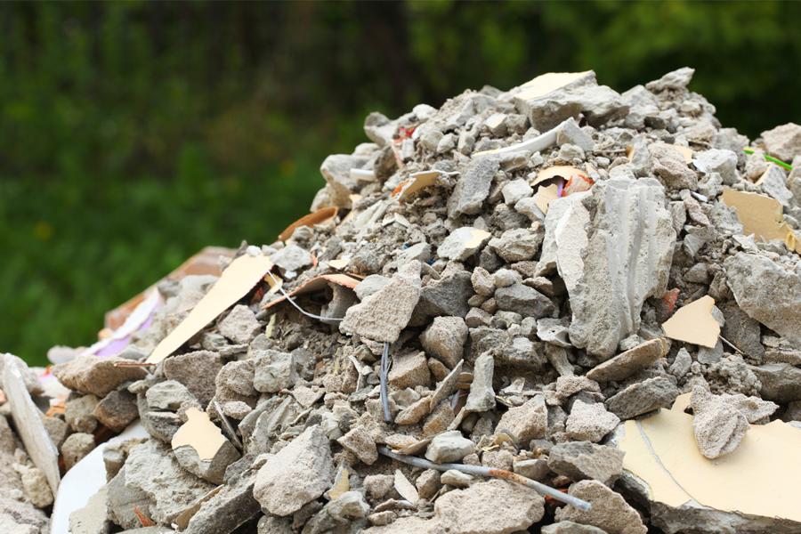Resíduos sólidos da construção civil. O que fazer